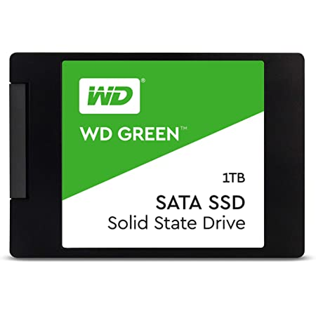 """Western Digital 1TB WD Green Internal PC SSD - SATA III 6 Gb/s, N/A, 2.5""""/7mm, - WDS100T2G0A"""