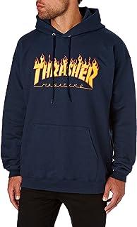 THRASHER Flame Logo Maglietta Uomo