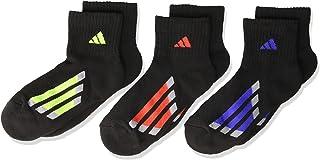 adidas Kids' - Boys/Girls Cushioned Quarter Socks (6-Pair)