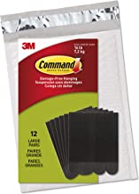 Command Picture Hanging Strips, Black, Decorate Damage-Free, Easy to Open Packaging (PH206BLK-12NA)