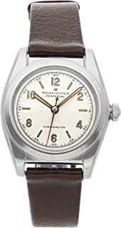 Rolex Oyster Perpetual Mechanical (Automatic) Silver Dial Mens Watch 2940 (Certified Pre-Owned)