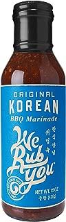 We Rub You Korean BBQ Marinade Original -- 15 oz - 2 pc