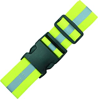 Endura Max Reflectives Reflective Elastic Belt or Sash, Military Heritage Style Glow Belt, Running Walking Motorcycling Friendly, Adjustable