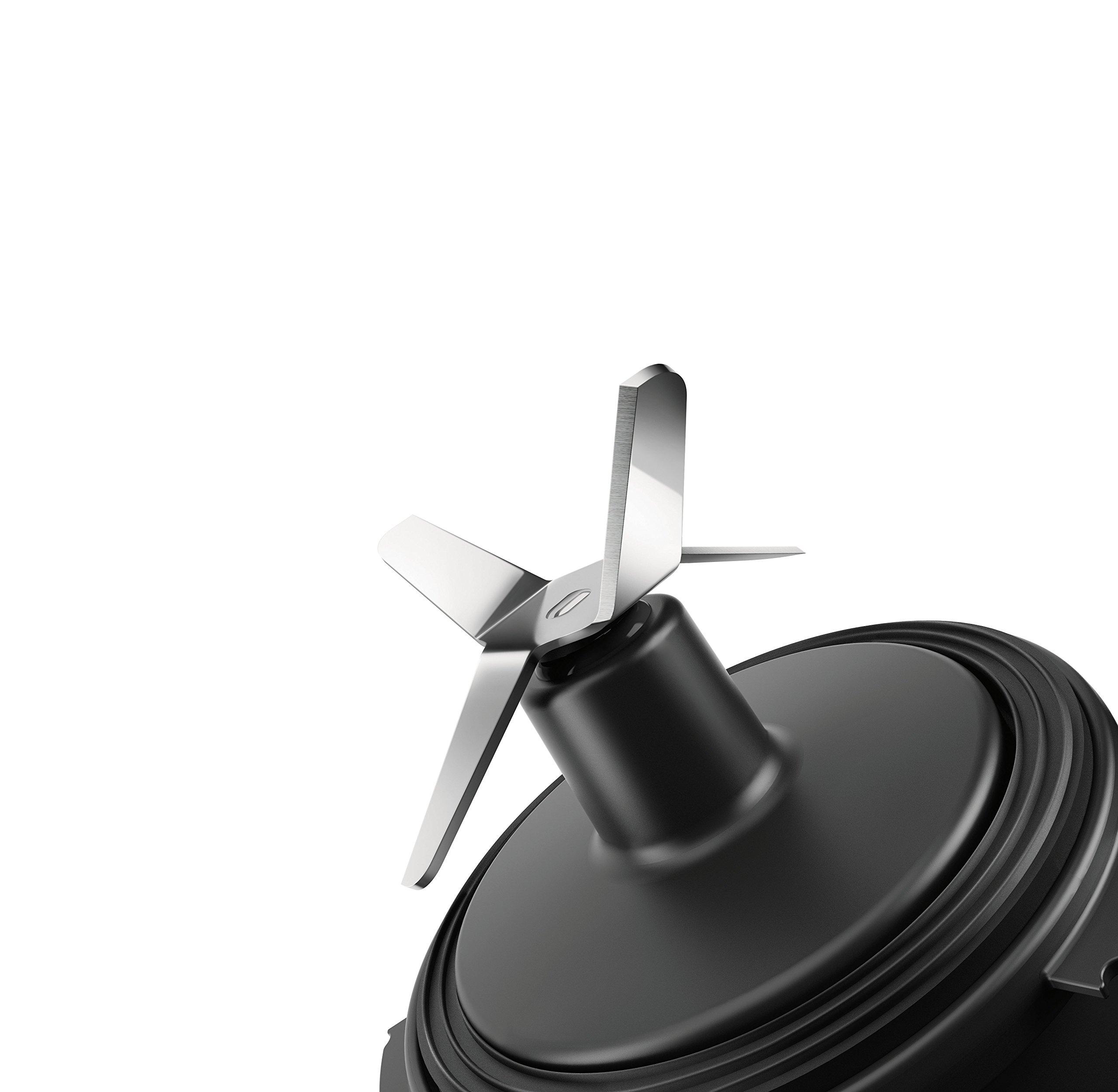 Philips HR2877/08 - Licuadora (0,6 L, Batidora de vaso, Negro ...
