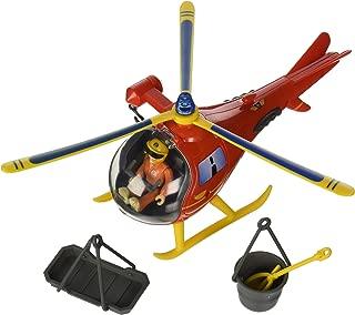 Sam el bombero - Wallaby, helicóptero con Figura y