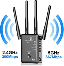 VICTONY WiFi Range Extender with WPS Internet Signal Repeater- 1200Mpbs Wireless Booster..