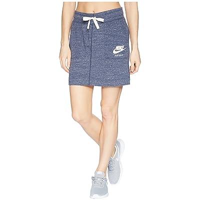 Nike Sportswear Gym Vintage Skirt (Thunder Blue/Sail) Women