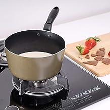 Royalford RF2010 Non-Stick Milk Pan - 14 cm, Brown,Aluminum