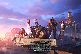 Best Print Store - Final Fantasy 7 Remake, Cloud, Tifa, Aerith, Barret, Red XIII Poster Print (24x36 inches)