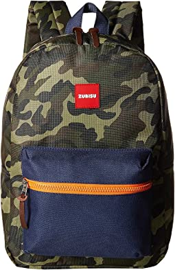 ZUBISU Camo Collaboration Small Backpack