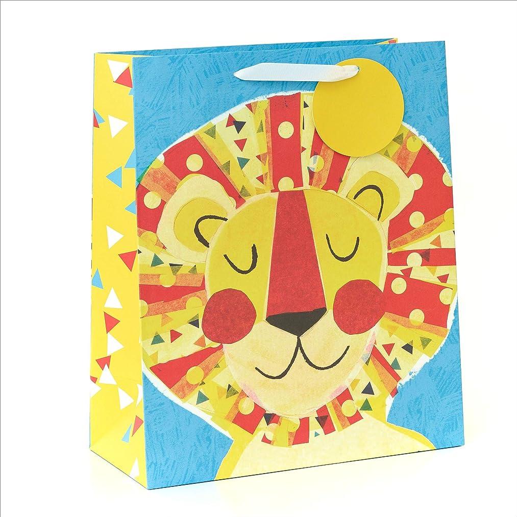 UK Greetings 587764-0-1 Fun Children's Lion Character Gift Bag