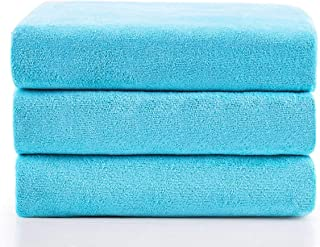 "Jml Microfiber Bath Towels, Bath Towel 3 Pack(27"" x 55""), Oversized, Soft, Super Absortbent and Fast Drying, Antibacteria..."