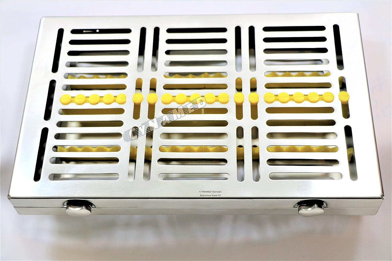 Premium German 1 Each Dental Challenge the lowest price of Japan ☆ Autoclave Elegant Surgical Sterilization Ca