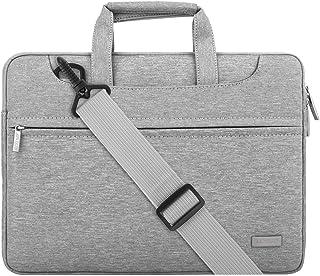 MOSISO Laptop Shoulder Bag Compatible 13-13.3 Inch MacBook Pro Retina/MacBook Air/Surface Laptop/Surface Book, Polyester B...