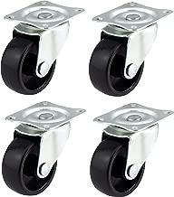 aparato y equipo peque/ñas ruedas por Bulldog ruedas/ QTY 4/x 50/mm Nylon ruedas giratorias/ /Max 110/kg por Set /muebles