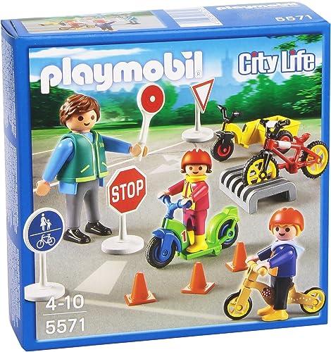 de moda Playmobil Guardería - Niños con Seguridad Vial, playset (5571) (5571) (5571)  tiendas minoristas