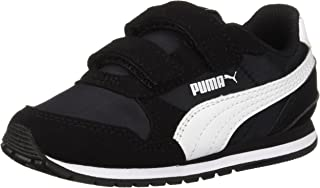 Puma Unisex-Kids St Runner NL Sneaker, Rock Ridge White,...