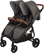 Valco Baby Snap Duo Trend Light Weight Double Stroller 2019 (Charcoal)