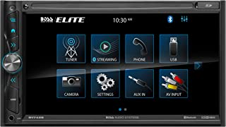 $111 » BOSS Audio Systems Elite BV745B Multimedia Car Stereo – 6.95 Inch Touchscreen, A-Link (Screen Mirroring), Double Din, Blue...