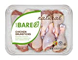 Just BARE All Natural Fresh Chicken, Family Pack of Drumsticks, 2.25 lb