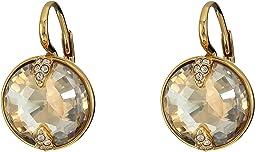 Swarovski - Globe Pierced Earrings