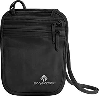 Eagle Creek Silk Undercover Neck Wallet, Black