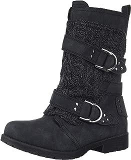 Women's Sugar Jolla Double Buckle Combat Boot