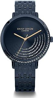 ساعة للسيدات ديزي ديكسون زرقاء بسوار مرصع بأحجار زرقاء - D DD128UN