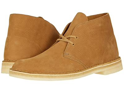 Clarks Desert Boot (Oak Nubuck) Men