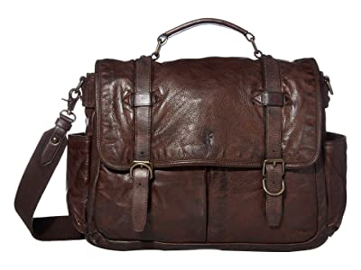 Frye Murray Brief (Dark Brown) Briefcase Bags