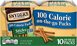 Snyder's of Hanover Pretzel Sticks, 100 Calorie Individual Packs (10 Count Box)