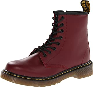 Dr. Martens Delaney Softy T Cherry Red, Náuticos Niñas