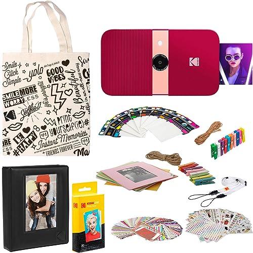 discount KODAK Smile Instant Print Digital online Camera (Red) Photo wholesale Frames Kit outlet online sale