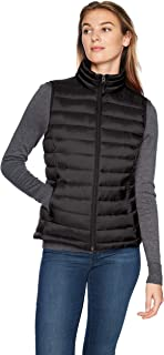 Amazon Essentials Women's Lightweight Water-Resistant Packable Puffer Vest