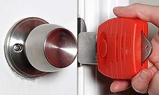 Portable Door Lock, Travel Door Lock, Hotel Motel Door Lock, Door Jammer, Apartment Security, Door Barricade, Bedroom Door...