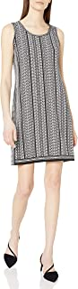 Amazon Brand - Lark & Ro Women's Jersey Sleeveless Side Slit Dress