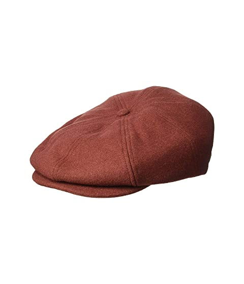 ac1ddd811d0 1940s Mens Hat Styles and History Brixton Brood Snap Cap Merlot Caps  39.00  AT vintagedancer.