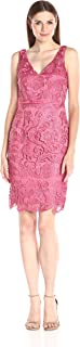 Adrianna Papell Women's Guipure Lace Sheath Dress