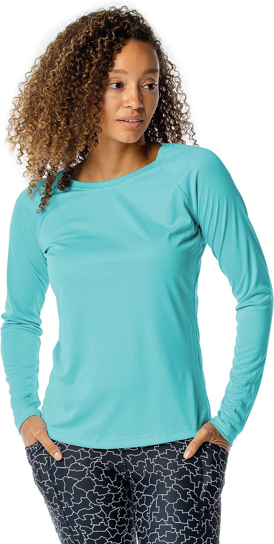 Vapor Apparel Women's UPF Branded Milwaukee Mall goods 50+ Sun Protection Long UV Sleeve