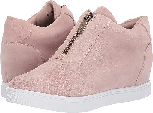 Light Pink Suede
