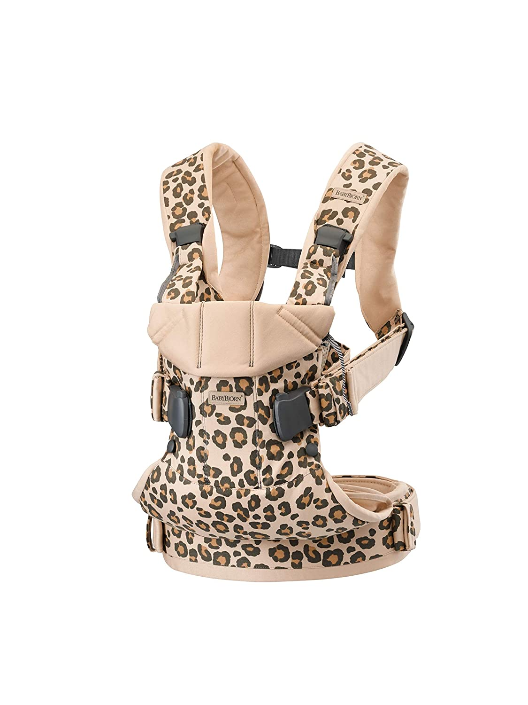BABYBJÖRN Baby Carrier One,, Cotton, Leopard