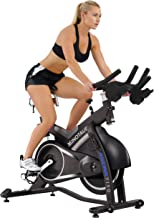 ASUNA 7150 Minotaur Exercise Bike Magnetic Belt Drive Commercial Indoor Cycling Bike with 330 LB Max Weight, SPD Style / Cage Pedals and Aluminum Frame