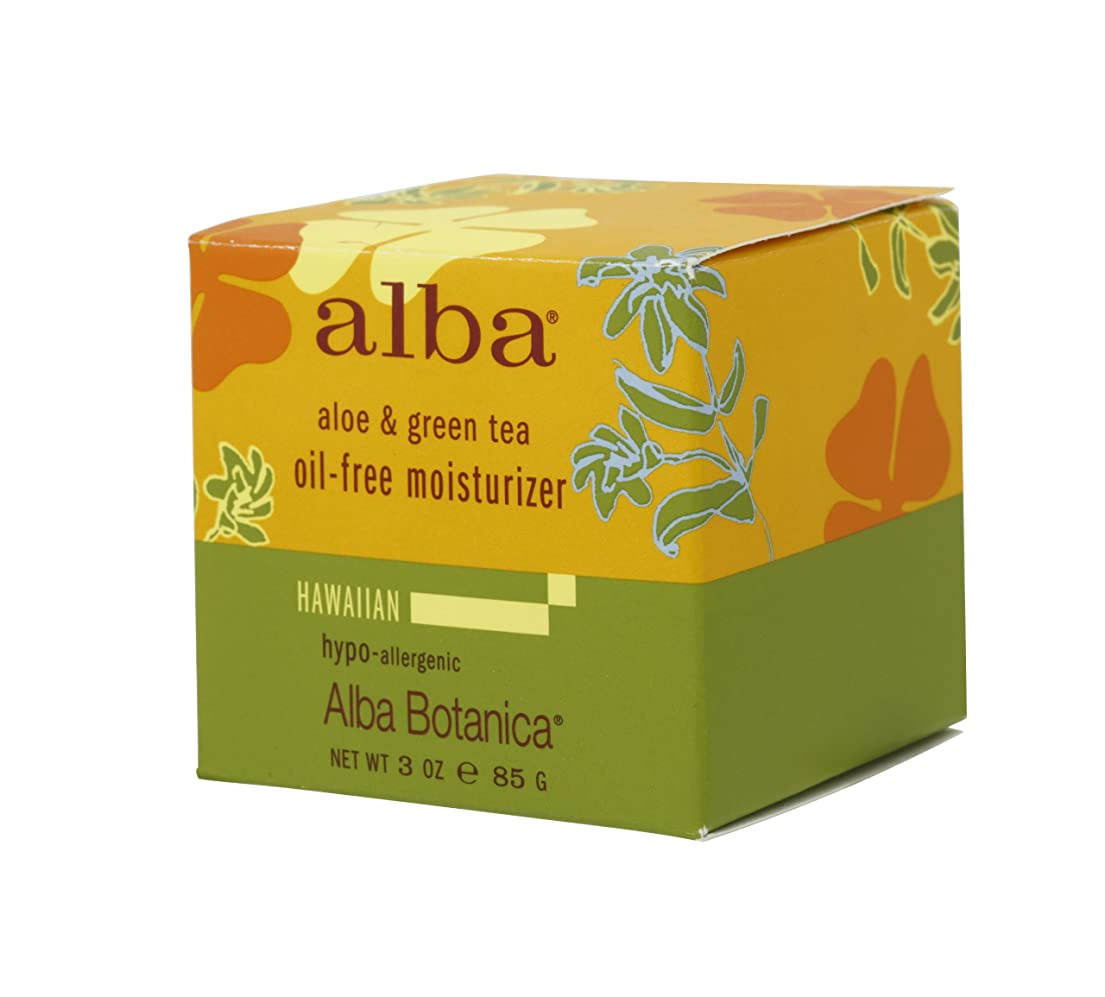 おとこ見える保護するalba BOTANICA アルバボタニカ ハワイアン オイルフリーモイスチャークリームAG アロエ&グリンティー