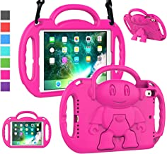 LTROP iPad 6th Generation Case for Kids, iPad 9.7 Case 2018/ 2017, iPad Air 2 Case - Shockproof Light Weight Shoulder Stra...
