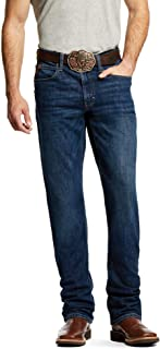 ARIAT Men's M1 Vintage Stretch Legacy Stackable Straight Leg Jean