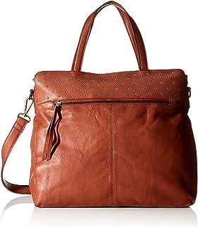 PIECES Damen Pcmarion Leather Shopper Fc Tasche, Einheitsgröße