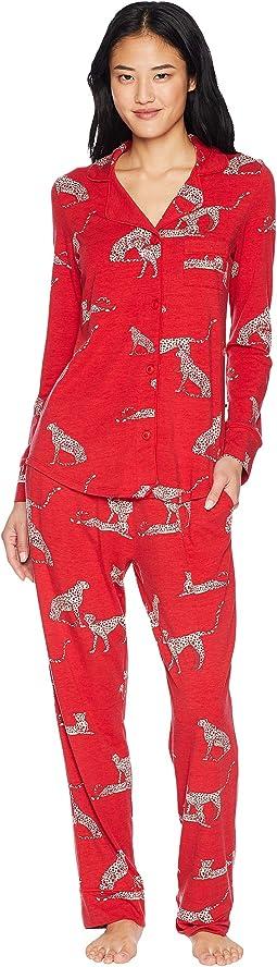 El Tigre Pima Knit Pajama Set