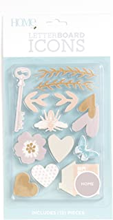 DCWVE Die Cuts with A View Icon Pack Letterboard-Home (13 pcs) LP-006-00035