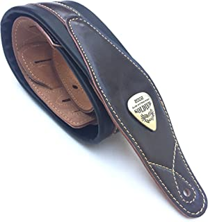 $29 » Legato Guitar Strap 3 Inches Wide Double Padded Soft Leather