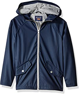 The Children's Place Boys' Uniform Rain Slicker